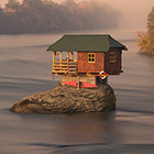House in the Middle of the River