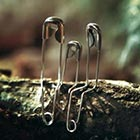 Safety Pin People by Chinese Artist Jun. C