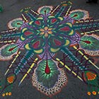 Beautiful Sand Paintings On The Streets of New York