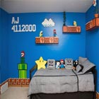 Super Mario-Themed Bedroom