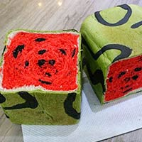 Watermelon Bread Is The New Food Trend In Taiwan