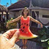 Watermelon Dress For Summer