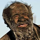 World's Dirtiest Man: Amou Haji Has Not Bathed in 60 Years