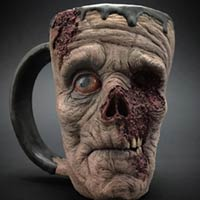 Amazingly Realistic Zombie Coffee Mugs